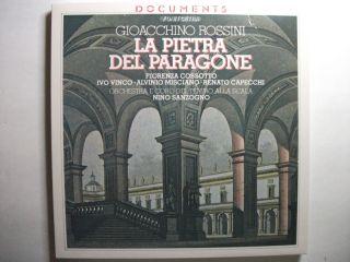 Gioacchino Rossini La Pietra Del Paragone 2 LP Set