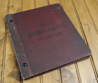 George Worthington Company Cleveland Bound Catalog of Saddlery
