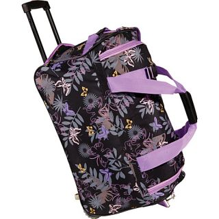 an image to enlarge rockland luggage 22 rolling duffle bag garden