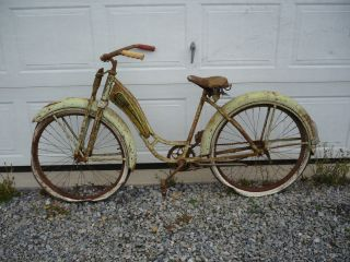 Vintage Monarch Girls Bike