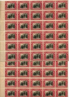 George Rogers Clark 1929 02 Scott 651 50 Stamp Sheet MNH