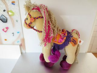 Groovy Girls Doll 2001 Calypso Horse Pose Able Saddle Reins Pet Animal