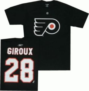 Philadelphia Flyers Claude Giroux Black Jersey T Shirt Sz XXL 2XL