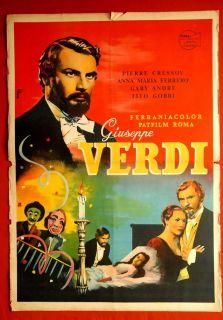 Giuseppe Verdi Italian Pierre Cressoy 1957 Anna Maria Ferrero EXYU
