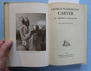 George Washington Carver Illustrated Biography Rackham Holt 1943