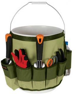 Fiskars Garden Tool Organizer Bucket Caddy