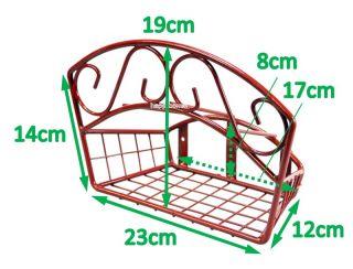 Hose Hanger Pipe Reel Holder Tidy Tool Storage Rack Garden Wall Fence
