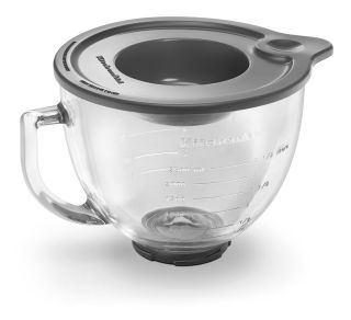 KSM100 KSM103 Stand Mixer Glass Bowl with Lid Kitchen Aid
