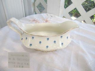 lovely vintage radisson w s george gravy bowl