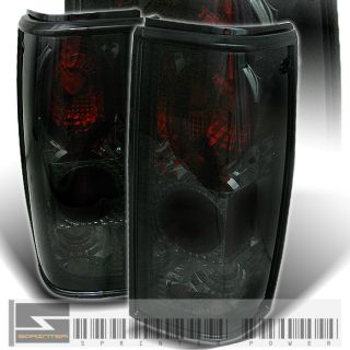 82 93 S10 S15 Blazer GMC Jimmy Sonoma Smoke Tail Lights