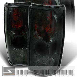 82 93 S10 S15 Blazer GMC Jimmy Sonoma Smoke Tail Lights