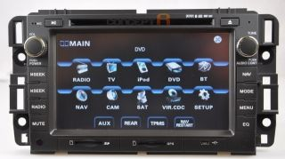 CASKA 2007 12 GMC Sierra 2500HD 3500HD DVD GPS Navigation Radio 08 09