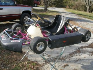 Haase Blizzard Go Kart Racing Chassis Roller  99 Starts Bid