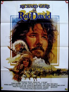 King David Richard Gere Original Movie Poster 47x63