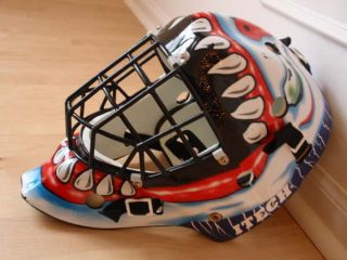 Itech Jr Hockey Goalie Mask Evil Clown