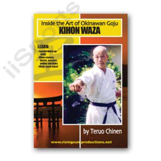 Inside Miyagi Chogun Okinawan Goju Ryu Karate Kihon Waza DVD Teruo