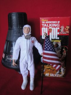 Gi Joe Talking Astronaut 12 Action Figure RARE Mint Condition