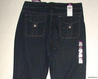 Gloria Vanderbilt Stretch Trousers Cotton Jeans Women 6