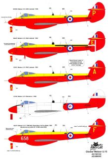 Alley Cat 1 48 Gloster Meteor U 15 Resin Conversion Kit