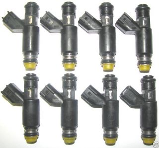 NEW Genuine GM OEM Fuel Injectors Cad Chevy GMC 5 3L V8 2002 07 Flex