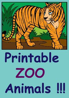 Printable Bugs Farm Zoo Animals Coloring Pages Combo