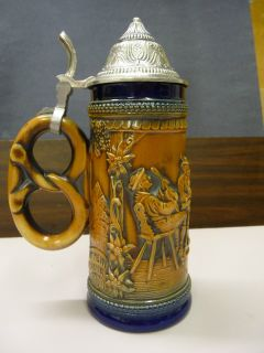 Gertz German Lidded Beer Stein