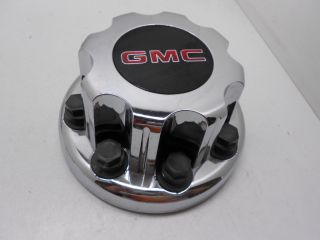 GMC 2500 3500 Sierra Dually Rear Wheel Center Cap Chrome Finish