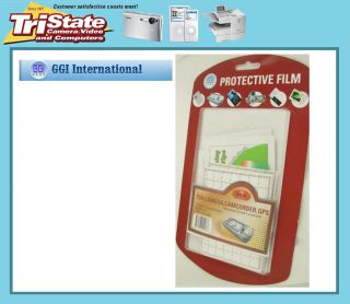 GGI Universal LCD Screen Protectors PDA GPS Camera 12 Pcs New