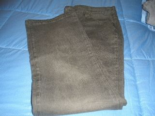 DG2 Diane Gillman Boot Cut Denim Jeans Grey Green Size 14 New