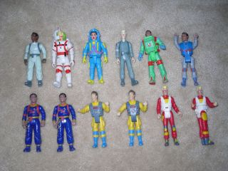 Big Lot of Vintage 1980s Ghostbusters Toys Figures Ghost Car Notepad