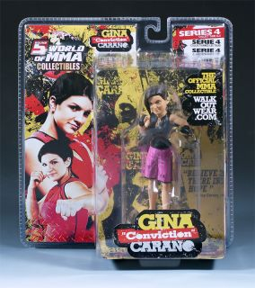 Gina CARANO Round 5 Exclusive Series 4 MMA Figure UFC