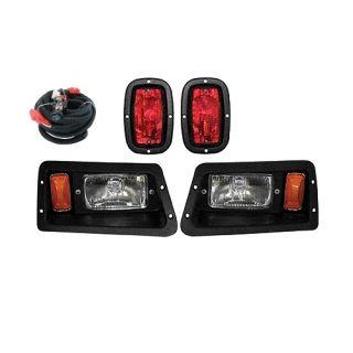 Yamaha Golf Cart Headlight and Tail Light Kit with Hardware
