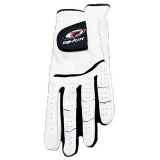 Top Flite XL Golf Gloves Mens Left White New