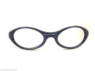 Vintage Oakley Blue Snake Skin Eye Jacket Frames Sunglasses Parts