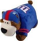New NY Giants Pillow Pets Stuffed Plush Bear NFL Football