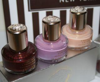 Versace 3pcs Collection Nail Polish Gift Set New in Box