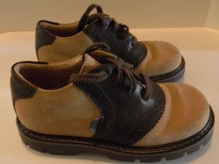 Elefanten Brown Saddle Shoes Toddler Girls Size 28 8