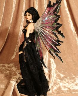 OOAK Fairy Art Doll Sculpture Gigi Gothic P Gibbons Fairies Goth