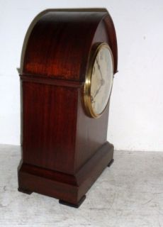 Gilbert 1900 Mahogany 8 Day Striking Lancet Clock