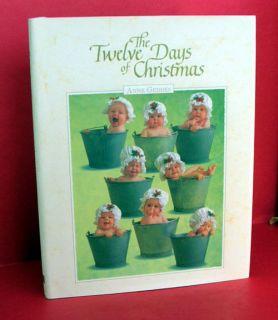 Anne Geddes 12 Days of Chrismas Phoo Books Hurry