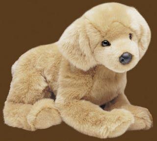 16 long 16 tall GOLDEN RETRIEVER stuffed DOG animal Douglas Cuddle Toy