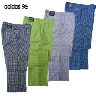 Golf Trousers Adidas 2012 Check Pant Funky Fashion Performance AW12