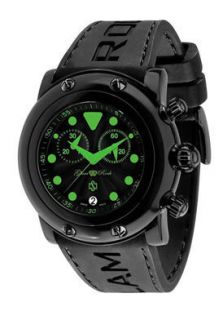 Glam Rock Watch GR61116 Womens Crazy Sexy Cool Chronograph Black