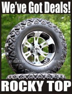 New ITP SS112 Golf Cart Wheels and All Terrain Tires