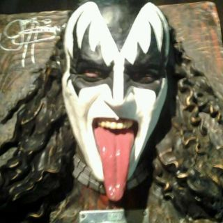 Kiss Gene Simmons Signed Limited Edition Bust