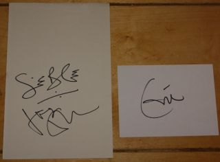 Cream Eric Clapton Jack Bruce Ginger Baker Hand Signed Autograph