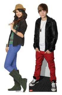 Justin Bieber Selena Gomez Standee Stand Up Set Licensed Skus 9 1016