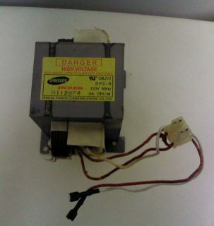 GE General Electric Microwave Oven High Voltage Transformer WB27X10868