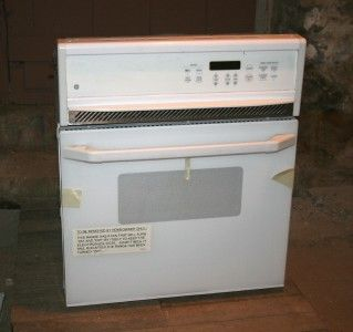 JRP15 Built in Electric Wall Oven White General Electric Oven