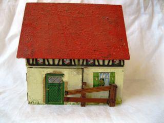 Gottschalk Dollhouse Vintage Wooden Toy Doll House Germany